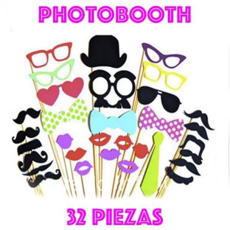 photocall 32 piezas atrezzo
