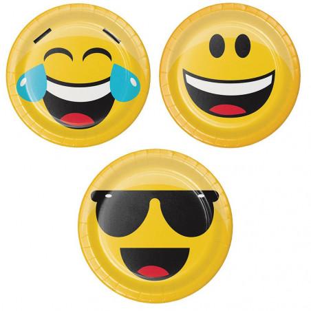 8 platos fiesta emoji