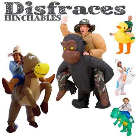 disfraz animal hinchable original