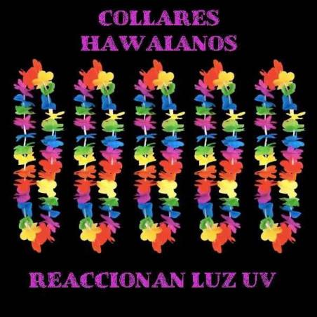 Collares hawaianos UV