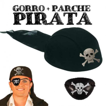 Gorros piratas parches piratas pirata