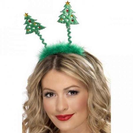 Diadema árbol de navidad