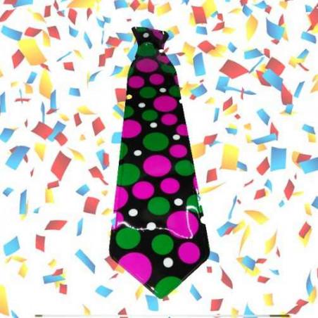 12 corbatas topos plástico (uv)