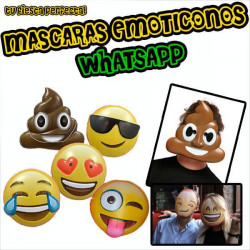 Caretas emoticonos whatsapp