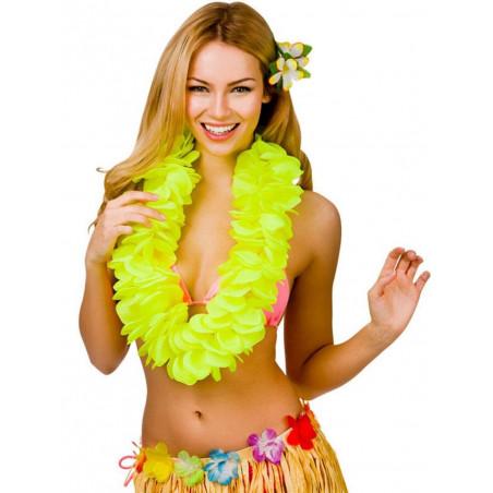 Collar Hawaiano amarillos