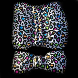 Pajaritas gigantes leopardo multicolor