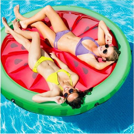Colchoneta hinchable Sandía piscina