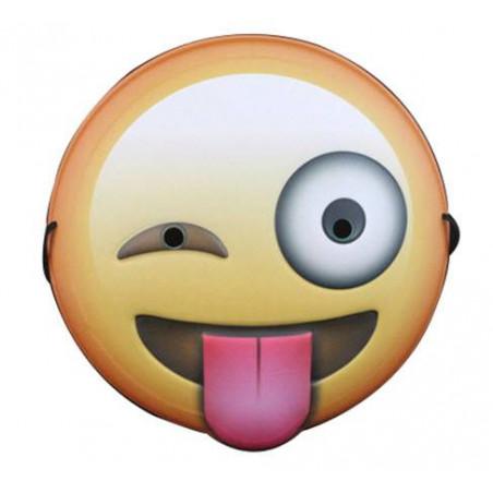 Careta emoji guiño whatsapp