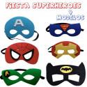 mascaras de  superheroes