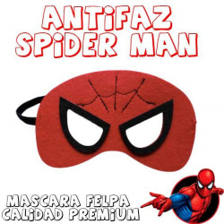Máscara superheroe spyderman