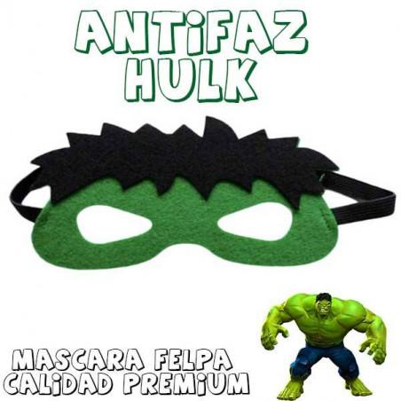 Máscara superheroe Increíble Hulk