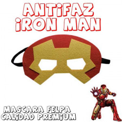 Máscara superheroe Iron Man
