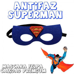 Máscara superheroe superman