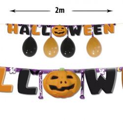 Guirnalda fiesta halloween
