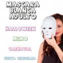 Mascara blanca veneciana