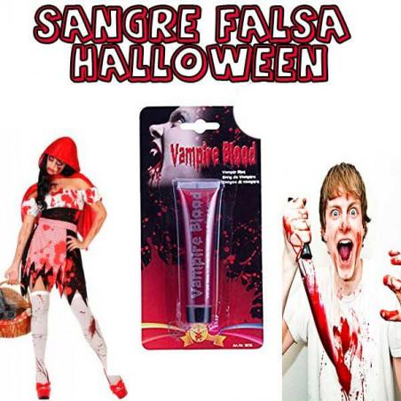 Sangre falsa halloween