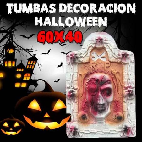 Tumba calavera Halloween 60cm