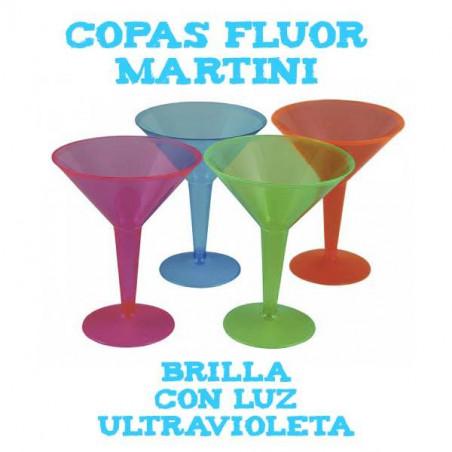 Copa de martini Neon fluor