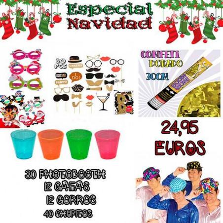 Lote decoración fiesta 95 productos