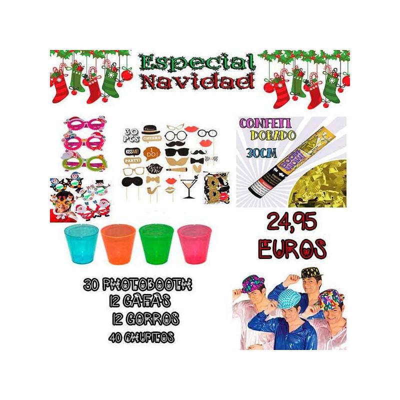 Lote navidad atrezzo 95 productos