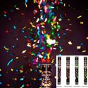 Cañones confeti neon brilla en la oscuridad 45cm