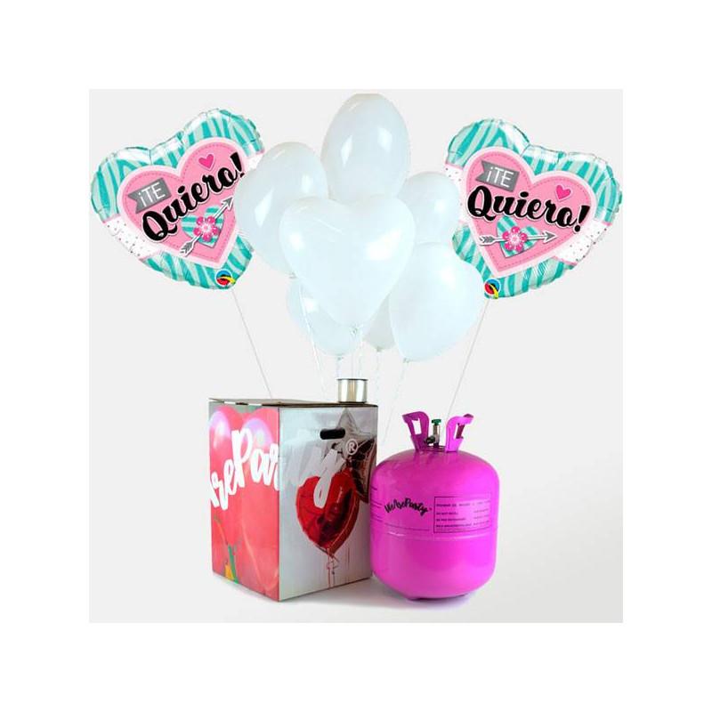 globos regalo corazn para san valentn