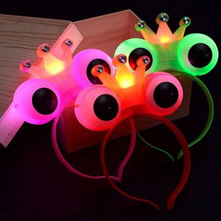 Diadema sapo o principe LED