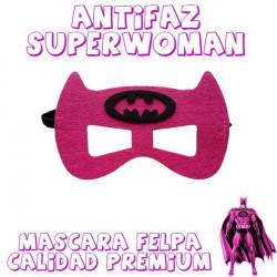 Máscara batman chica superwoman