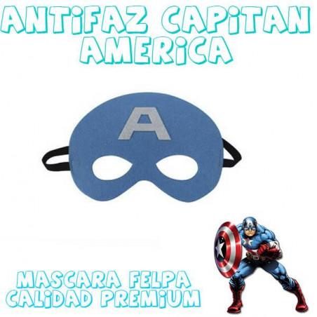 Máscara superheroe Capitan America