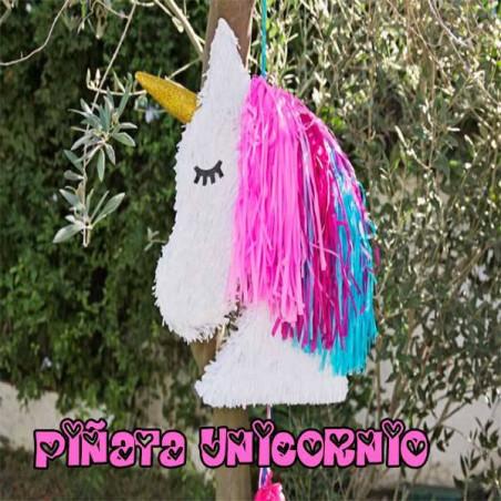 Piñata Unicornio artesanal