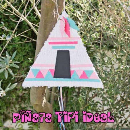 Piñata fiesta indios artesanal