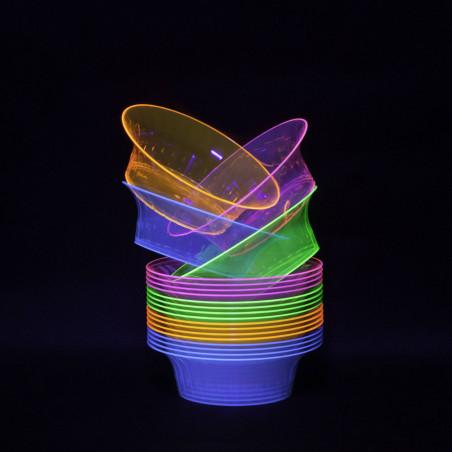 snack bowl neon luz uv