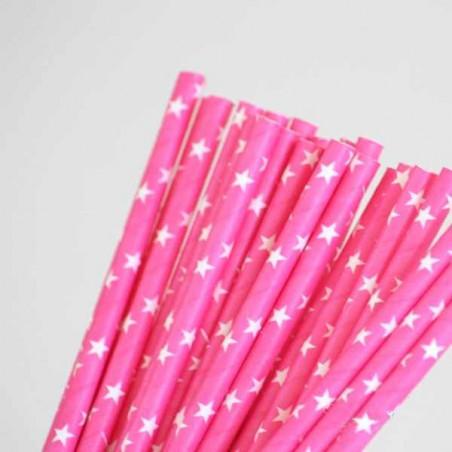 pajitas estrellas cañas cañitas papel bonitas