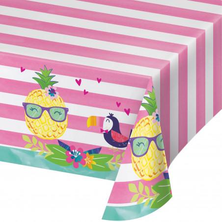 mantel plástico fiesta verano 137cm x 274 cm