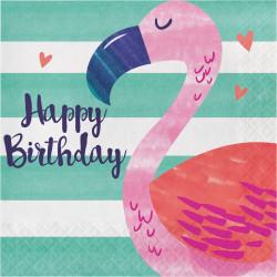 16 servilletas papel fiesta verano pelicano