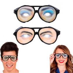 Gafas con ojos para hombre