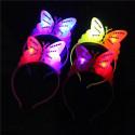 Diadema de mariposa luminosa