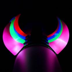 Cuernos de luz led