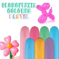 Globo globoflexia color pastel