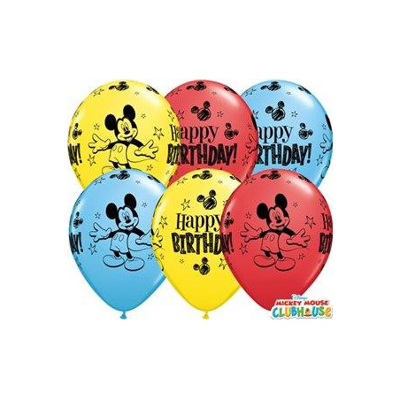Globos Mickey Mouse cumpleaños