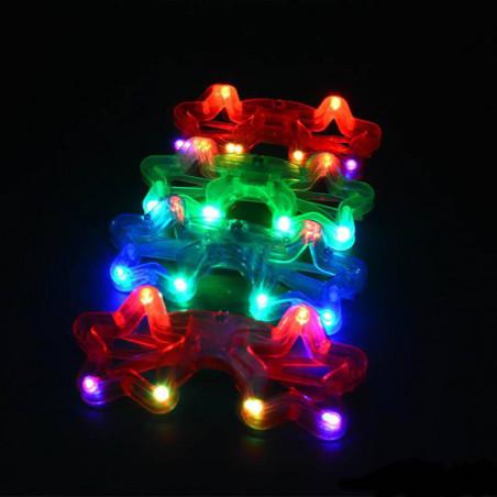 gafas estrella luz led