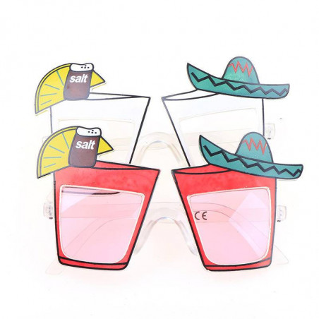 Gafas coctel mexicana