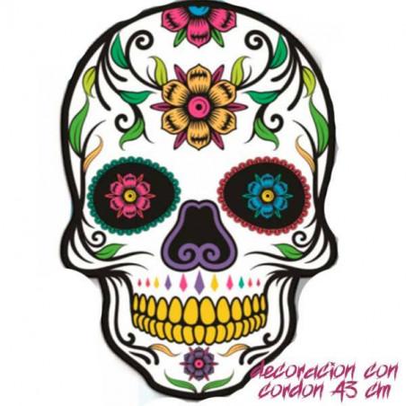 Calavera mexicana Halloween 83 cm