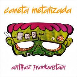 Antifaz Monstruo Frankenstein metalizado halloween
