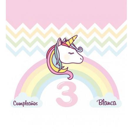 fondo photocall fiesta unicornio
