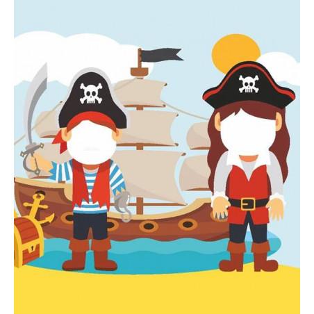 fondo photocall fiesta pirata