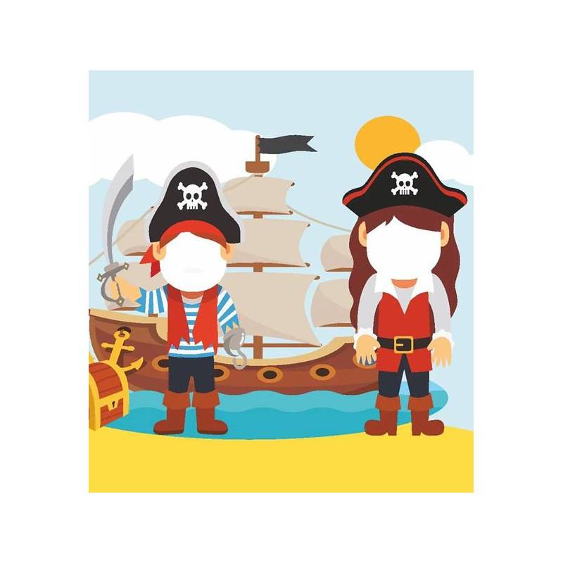 photocall de tu fiesta pirata