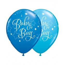 globos de bebe azul