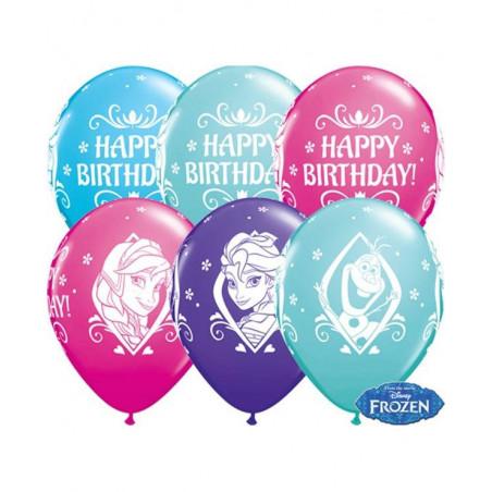 Globos Disney Frozen cumpleaños