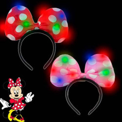 Diadema lazo minnie